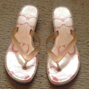 Coach Kitten Heel Slippers
